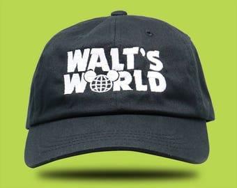 Disneyland Hat / Walt Disney World  / Baseball Hat / Dad Hat / Disney Hat / Mickey Hat / Mickey Hat/ Disney Castle / Disney Trip /