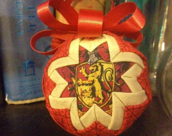 Gryffindor House Inspired Ornament