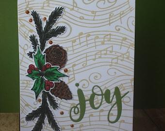 6 Joy Christmas Cards