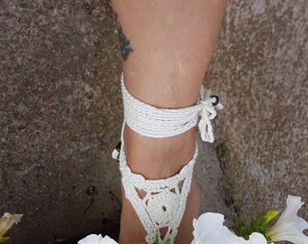 Barefoot sandals, the barefoot faery