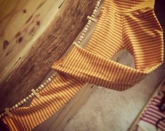 Orange-yellow pants