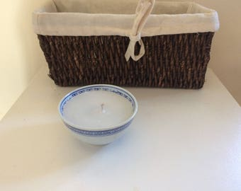 Vintage Candle - handmade vanilla cented candle