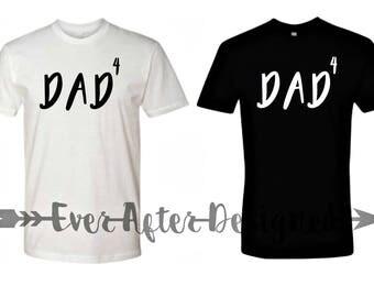 Dad Custom Shirt ~ Daddy Announcement Shirt ~ To Be Dad Again Shirt