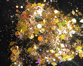 Iron Pyrite Body Glitter