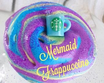 Slime, Butter Slime 6oz Starbucks Mermaid Marble Slime, Scented Slime, Starbucks Unicorn Frappucino Slime, Borax Free, Lillycat