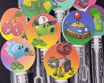 Plants vs Zombies Bubble wands  12pcs.
