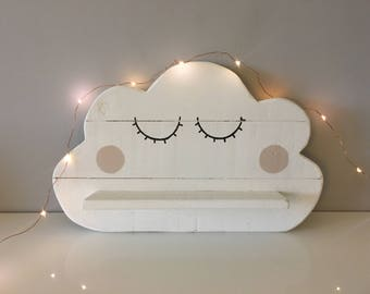 Nursery/Bedroom Cloud Shelf