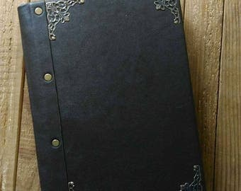 classic leather notebook