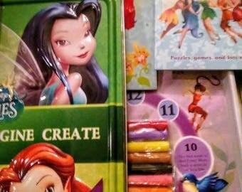 Princess Activity coloring Tin Set