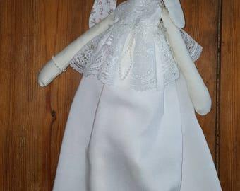 Princess bunny  stuffed animal  romantic lace