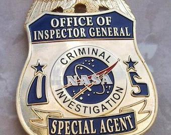 NASA Special Agent Badge