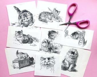 Cute kitty doodles - weheartconfetti