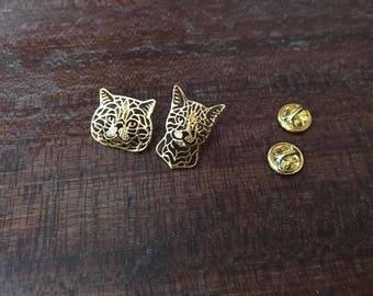 Cat head pin