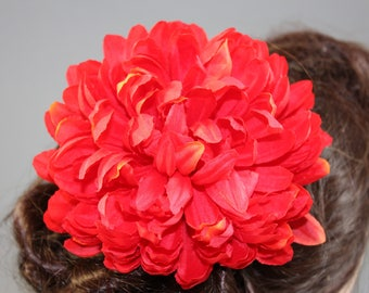 "Vintage inspired rockabilly hair flower/Hairflower ""Amy I"""