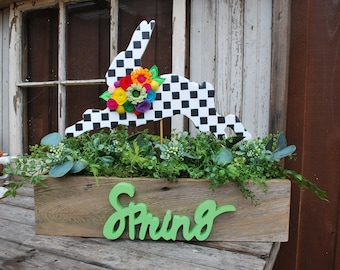 Spring Rabbit Centerpiece