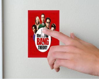 The Big Bang Theory-Lightswitch Cover- Big Bang Theory Room Decor