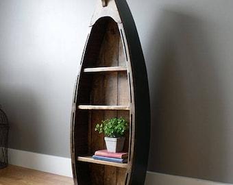 Wood Boat Shelf