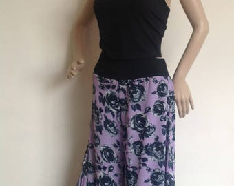 Sheer beautifully flowing culottes in sizes small to large