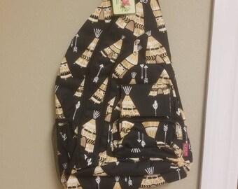Teepee Sling Backpack
