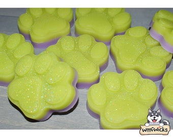 Fizzy Pop Wax Melt - Soda Wax Melts - Citrus Wax Melts - Lime - Coconut - Paw Chunks Highly Scented and Strongest Smelling - Longest lasting