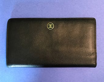 Chanel Portefeuille Wallet Clutch
