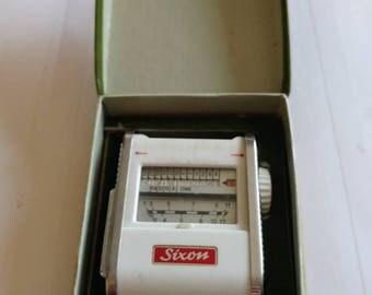 Vintage Boxed Gossen Sixon Lightmeter