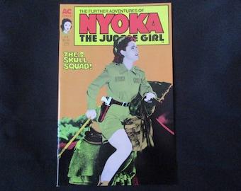 The Further Adventures of Nyoka: The Jungle Girl #3 Americomics 1988