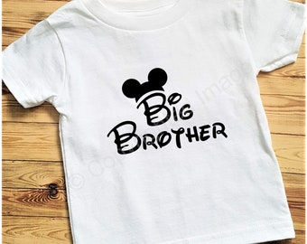 Toddler T-shirt - Mickey Mouse - Big Brother