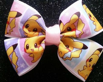 Chibi Pikachu Hairbow