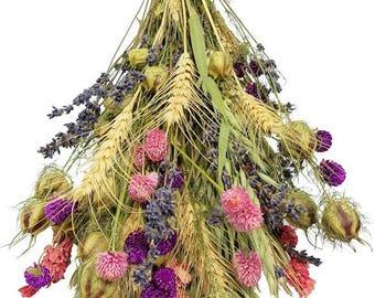 Dried Pink Galaxy Bouquet