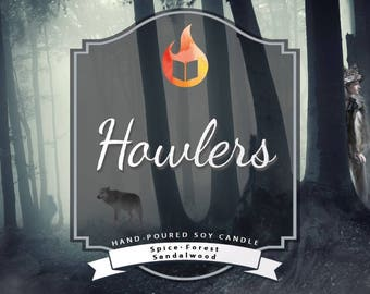 Howlers | Hand-Poured Bookish Soy Candle | Red Rising | Golden Son | Morning Star | The Red Rising Series