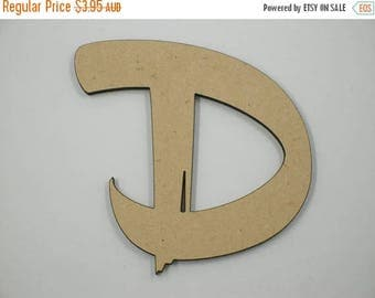 20% OFF 15cm MDF Wood Wooden Letters 3mm Thick BRU