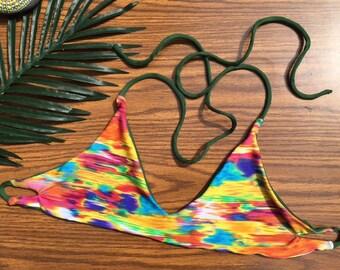 Rainbow Smear Cuppie Top