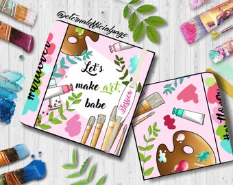 Sketchbook/ artbook / artjournal / gift idea for art lover and maker ! Custom journal