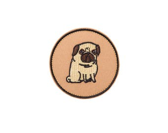 Pug Face Patch Custom Personalized Patches to Personalize Snapback Hat