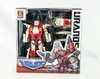 Rare TFC Toys Uranos F-4 Phantom Ray Transformer Autobot