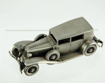Danbury Mint Pewter Car Collection 1929 Cord L29 Model Car