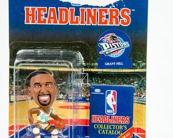 NBA Headliners Grant Hill Figure Detroit Pistons