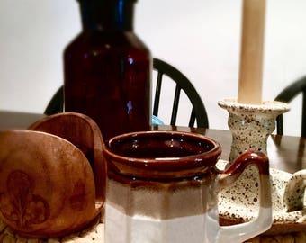 Ceramic mug   Vintage mug