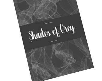 Shades of Grey Notebook/Journal