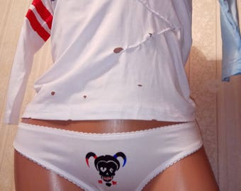 Harley quinn t-shirt daddys lil monster Harley quinn panties underpants shorts Harley quinn costume kids harley quinn cosplay suicide squad