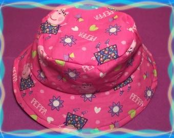 Girls Reversible Bucket Hat For Kids