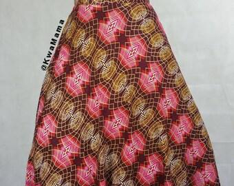Ankara maxi dress, African wax lightweight maxi dress, Robe Africaine, Size US 12