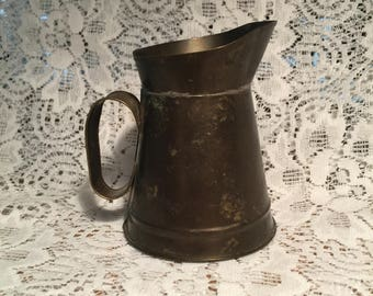 Metal Colonial Style Pitcher
