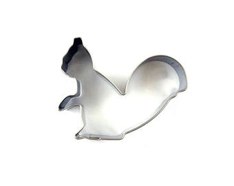 Small Squirrel Cookie Cutter- Fondant Biscuit Mold - Pastry Baking Tool Set