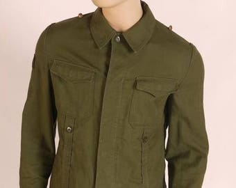 army surplus/military issue German moleskin shirt