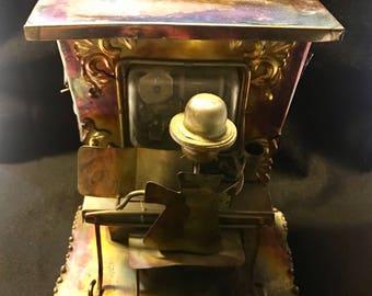 Vintage Sankyo Copper Tin Music Box