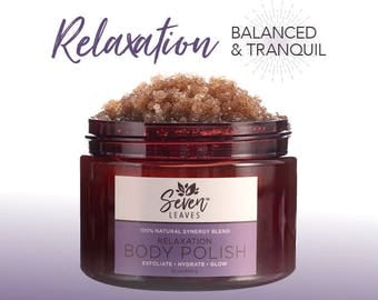 RELAXATION  |  100% Natural Plant-Based Body Polish 10oz