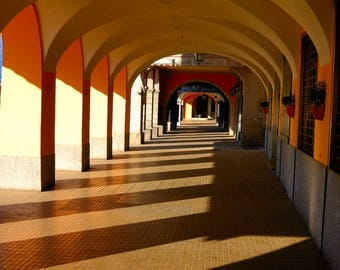 Walkway Bellagio Northern Italy Print   08061-02454