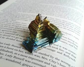 Imhotep's Steps  -  Bismuth Crystal sculpture